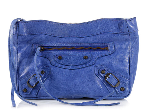 Balenciaga 2002 Blue Trousse Maquillage