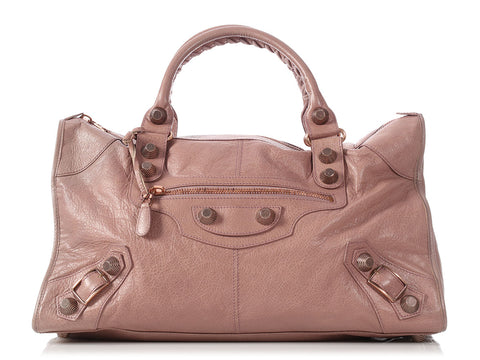 Balenciaga Taupe Giant Rose Gold 21 Work