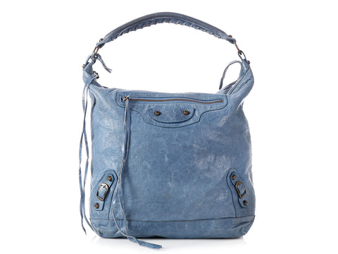 Balenciaga 2006 Classic Cornflower Blue Day Bag