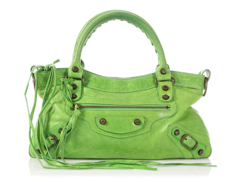 Balenciaga Apple Green Classic First