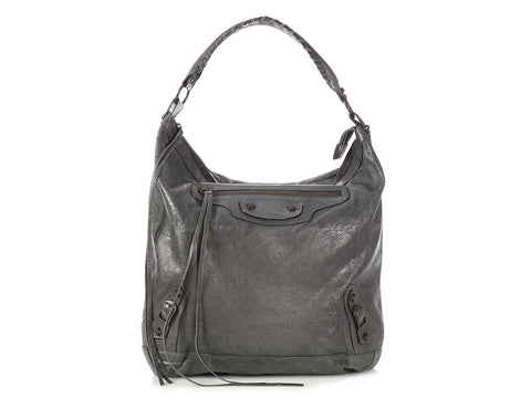 Balenciaga 2007 Anthracite Chèvre Classic Day Bag