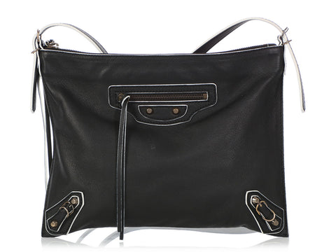 Balenciaga 2012 Classic Papier Neo Fold Handle Crossbody Bag