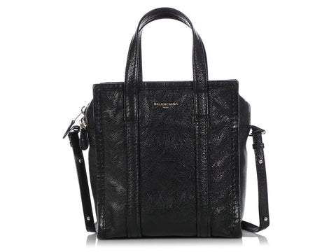 Balenciaga XS Black Bazar Shopper