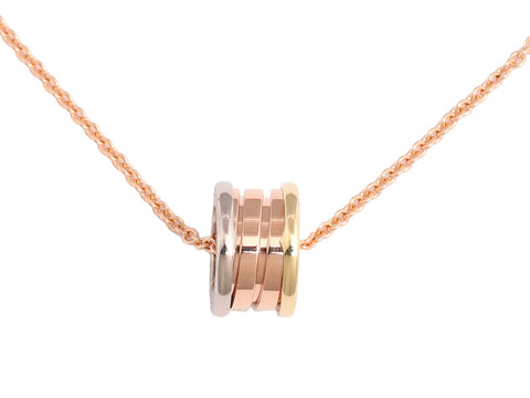 Bulgari B.zero1 18K Gold Tricolor Necklace