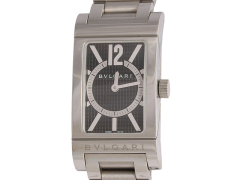 Bulgari Stainless Steel Rettangolo Watch