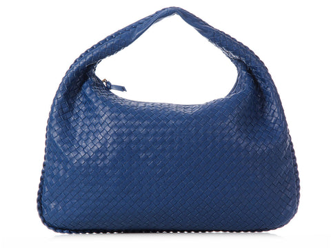 Bottega Veneta Large Blue Veneta