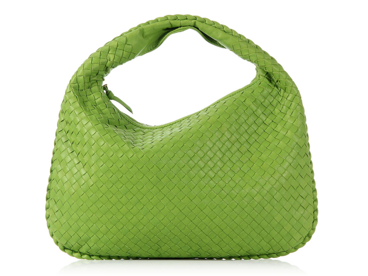 Bottega Veneta Medium Lime Green Veneta