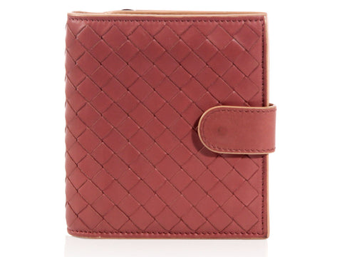 Bottega Veneta Tea Rose French Wallet
