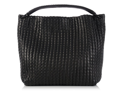 Bottega Veneta Black Tote