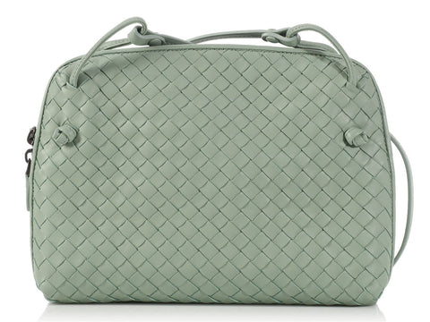 Bottega Veneta Light Sauge Pillow Bag