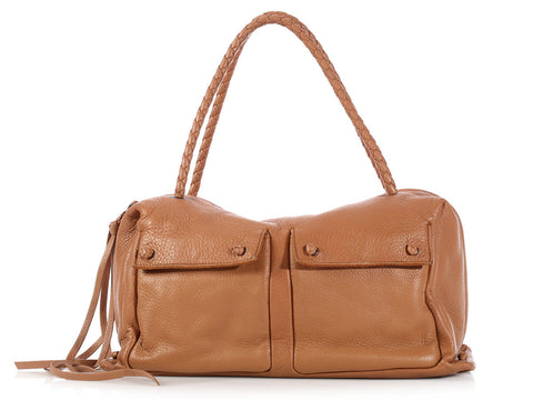 Bottega Veneta Camel Bag