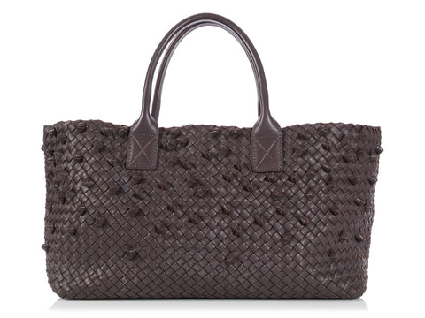 Bottega Veneta Medium Lilac Cabas