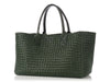 Bottega Veneta Medium Green Cabat Tote
