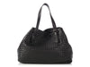 Bottega Veneta Large Black Woven Tote