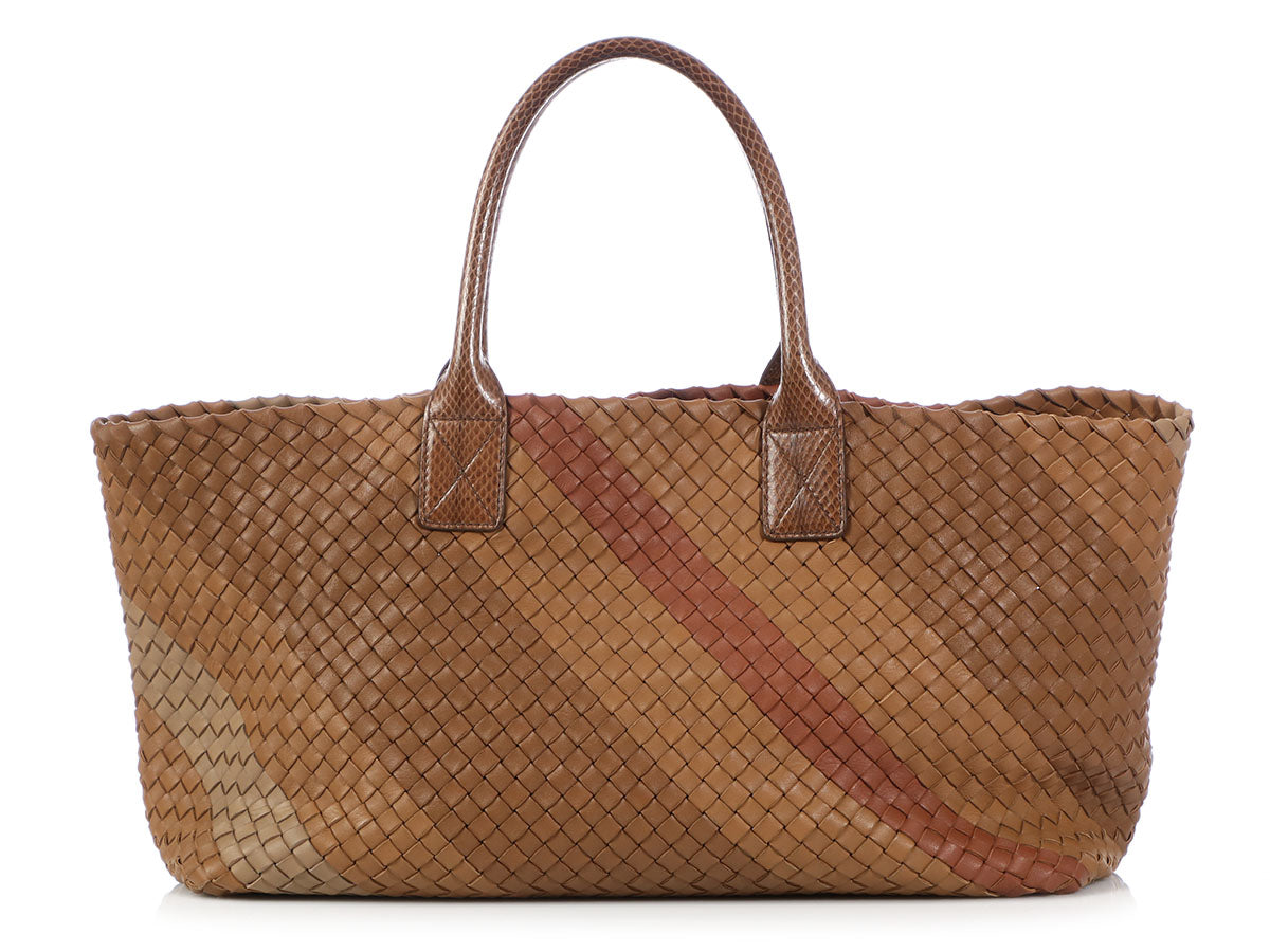 Bottega Veneta Medium Regimental Cabat