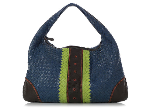 Bottega Veneta Limited Edition Large Karung-Trimmed Hobo