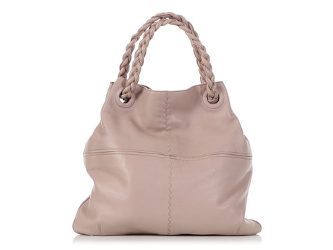 Bottega Veneta Dusty Rose Cervo Deerskin Julie Tote