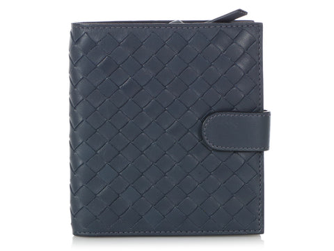 Bottega Veneta Blue Wallet