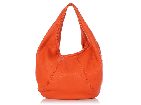 Bottega Veneta Orange Cervo Hobo