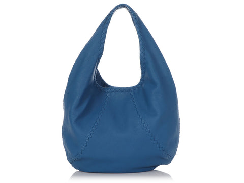 Bottega Veneta Electric Blue Cervo Hobo