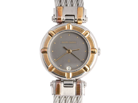 Charriol Two Tone Keltic Cable Watch