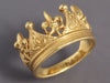 Cynthia Bach 18K Gold Crown Ring