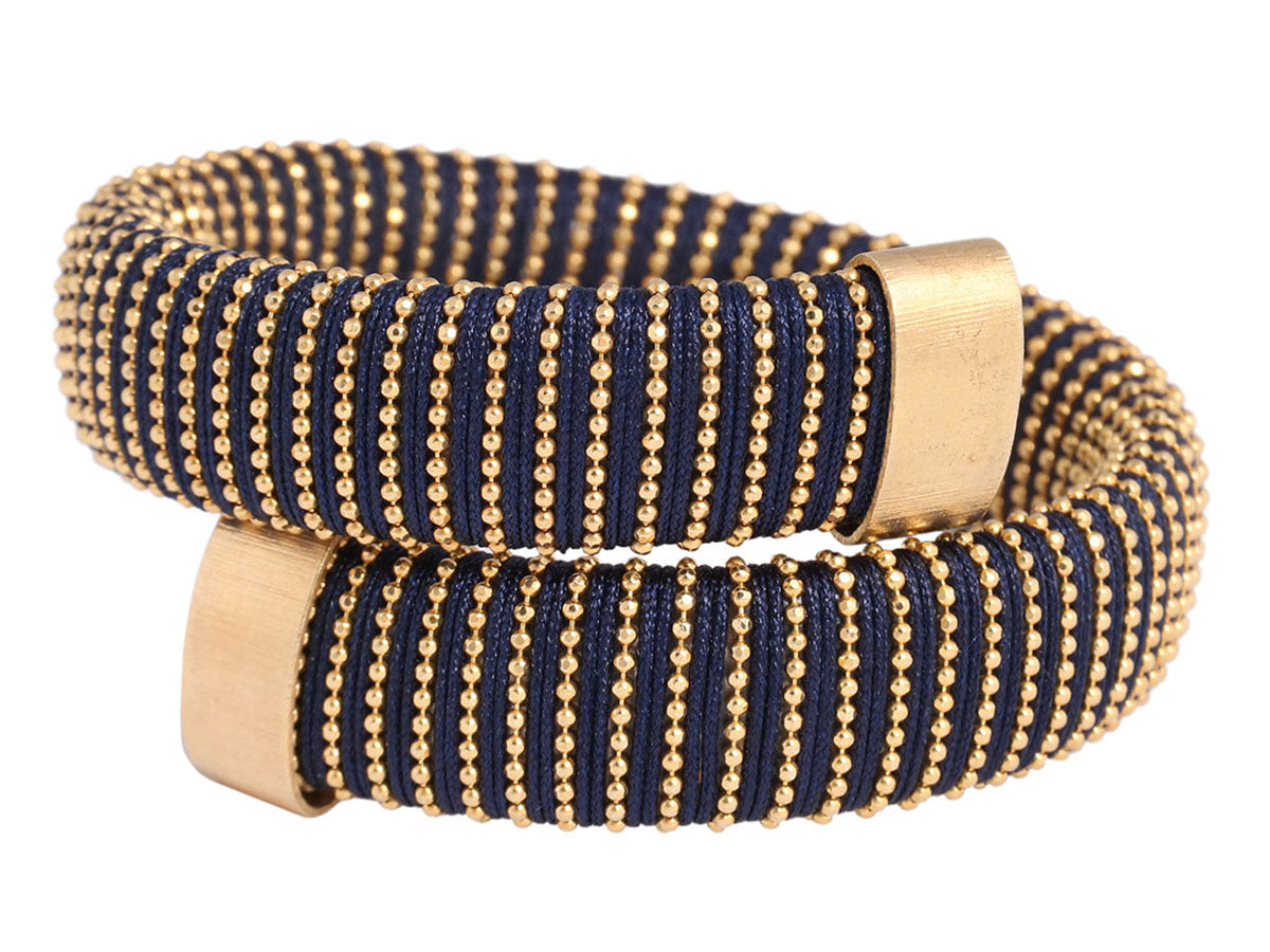 Carolina Bucci Black and Gold Caro Bracelet