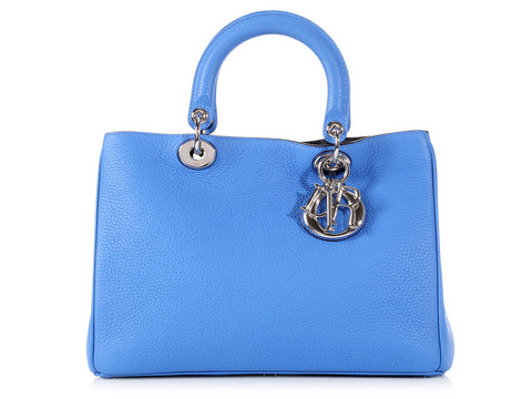 Dior Bright Blue Diorissimo Bag