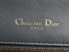 Christian Dior Medium Gray Ceramic Effect Deerskin Diorama Flap