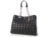 Dior Large Black Quilted Lambskin Soft Shopping Tote