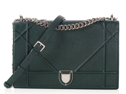 Dior Large Dark Green Diorama