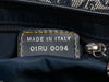Christian Dior Navy Trotter Saddle Bag