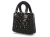Dior Mini Black Lambskin Lady Dior