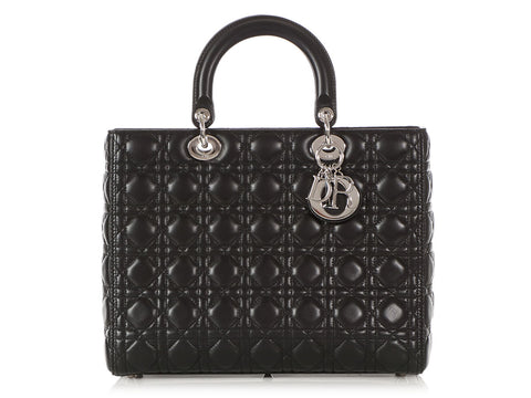 Dior Large Black Lady Dior