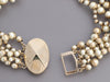 Dior Gold-Tone Costume Pearl Multi-Strand Necklace