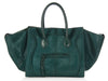 Céline Medium Teal Pony Hair Phantom
