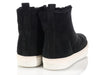 Celine Black Zip Shearling Ankle Boots
