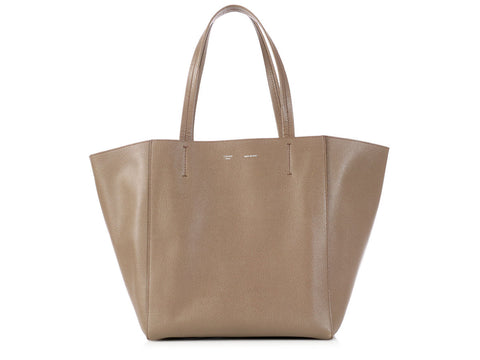 Céline Light Brown Medium Cabas Phantom Tote