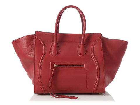 Céline Medium Red Phantom