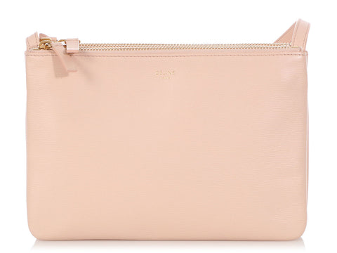 Céline Small Pale Pink Trio