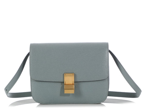 Céline Medium Gray Classic Box Bag