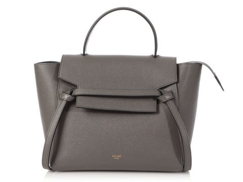 Céline Micro Gray Belt Bag