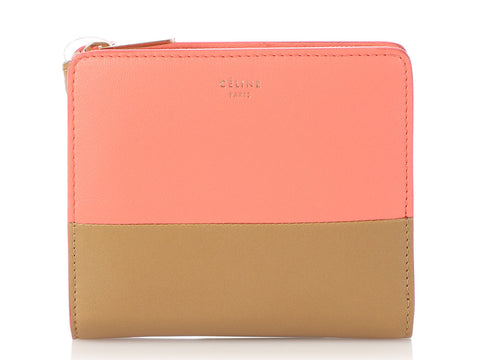 Céline Bi-Color Compact Wallet