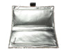 Chanel Silver Python Sac Pochette Cities Clutch