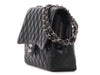Chanel Black Jumbo Classic Single Flap