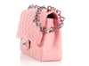 Chanel Pink Heart Chain Flap
