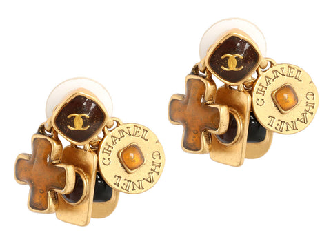 Chanel Charm Earrings