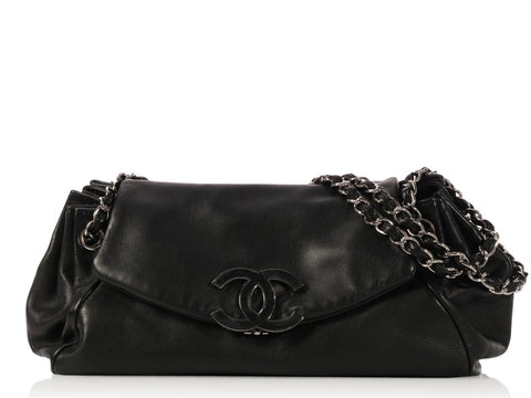 Chanel Black Accordion Flap