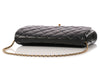 Chanel Black Timeless Clutch