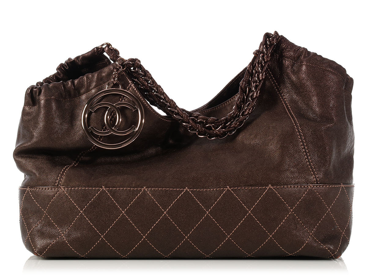 Chanel Small Bronze Coco Cabas
